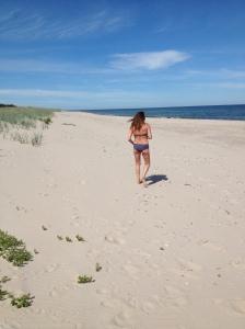 Ljuvlig strand